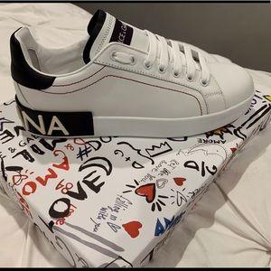 Dolce & Gabbana white sneakers